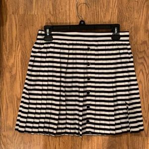 Black and white striped skirt. Only worn once.